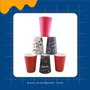 لیوان- کاغذی- دوجداره-اوند - پک